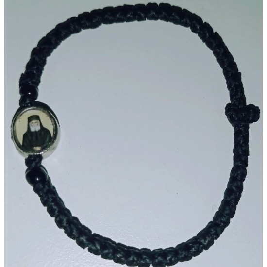 Rosary Ropes Waxed With a Picture of a Saint of Your Choice..!!